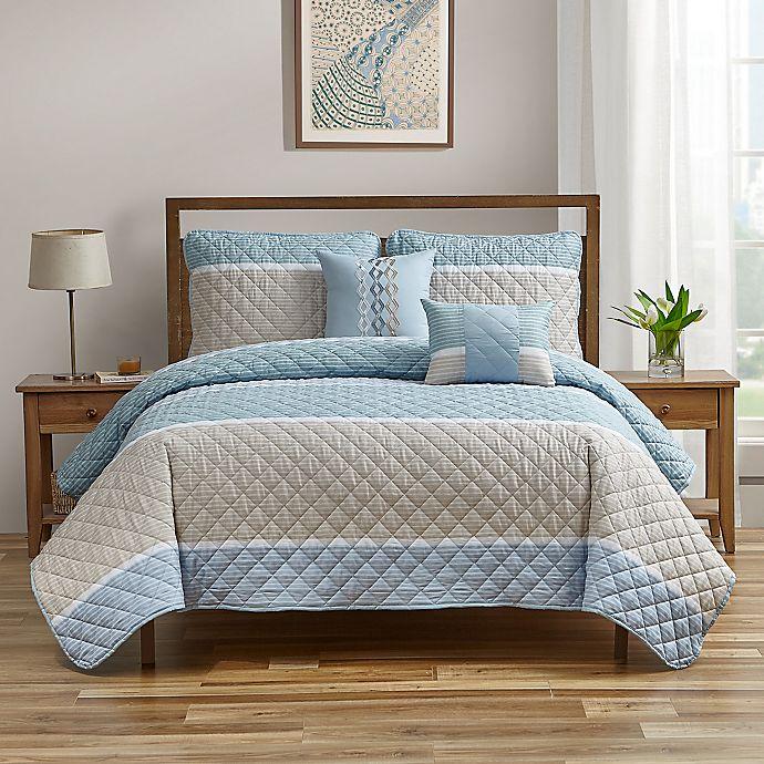 Alternate image 1 for Conesville 5-Piece Quilt Set