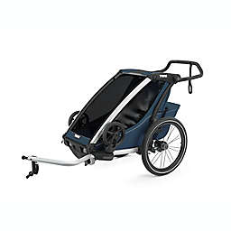 Thule® Chariot Cross Single Multi-Sport Stroller in Majolica Blue