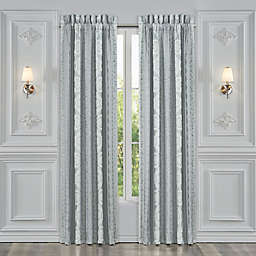 J. Queen New York™ Riverside 2-Pack 84-Inch Rod Pocket Window Curtain Panels in Spa