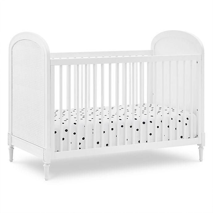 Alternate image 1 for Delta Children Madeline 4-in-1 Convertible Crib in Bianca White