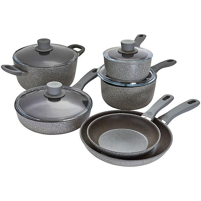 Alternate image 1 for Ballarini Parma Plus Nonstick Aluminum 10-Piece Cookware Set