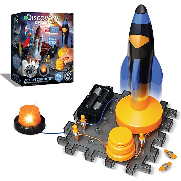 Alternate image 1 for Action Circuitry Electronic Experiment Mini Rocket Launch Set