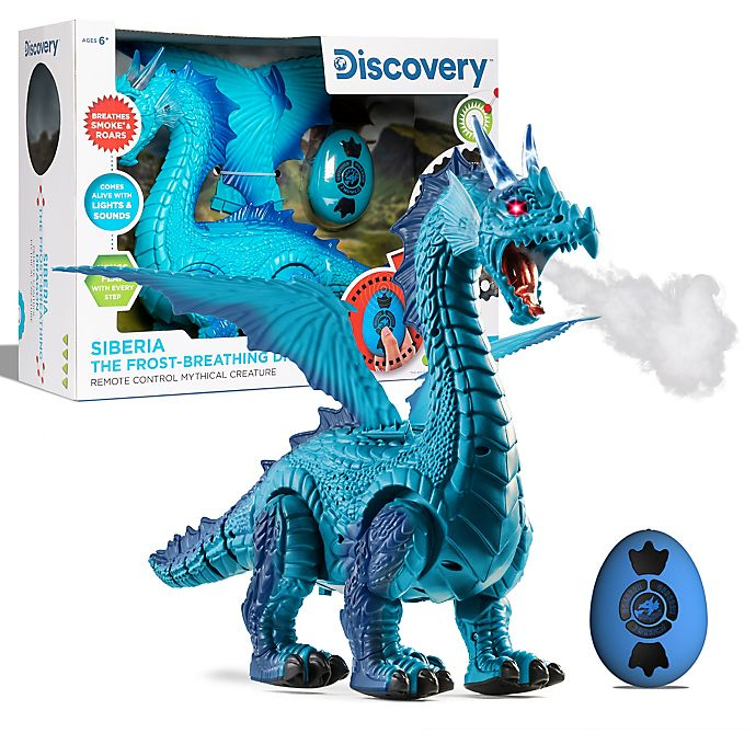 Alternate image 1 for Discovery Kids™ Dragon Remote Control Robotic Toy