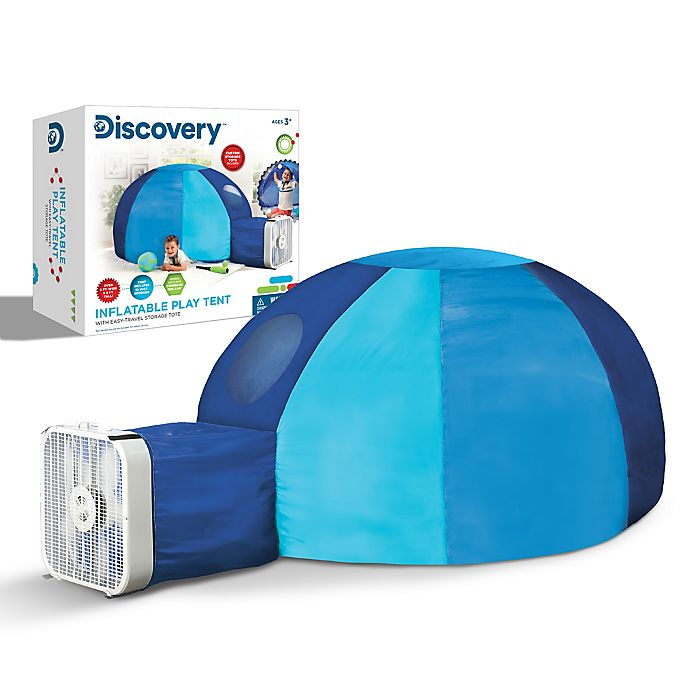 Alternate image 1 for Discovery Kids™ Inflatable Tent Playhouse