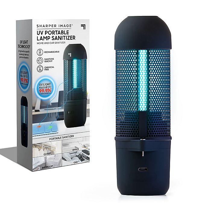 Alternate image 1 for Sharper Image® Portable UV Light Air Sanitizer in Black