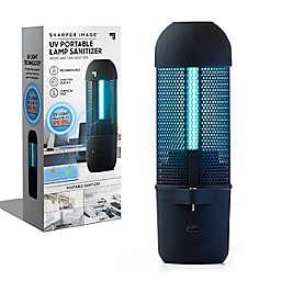 Sharper Image® Portable UV Light Air Sanitizer in Black