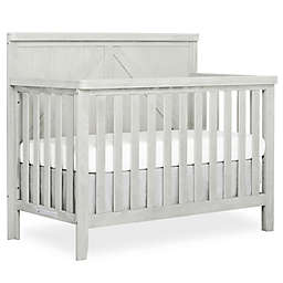 Rose Wood 4 in 1 Convertible Crib in Brush White