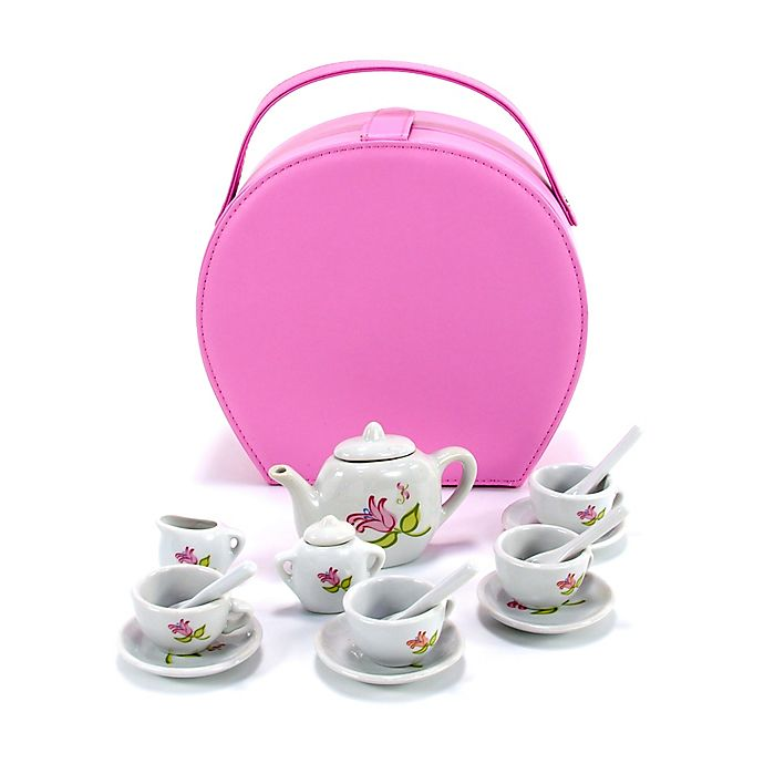 Alternate image 1 for ToySmith® Lil' Gourmet™ 17-Piece Lil' Tea Tote Playset