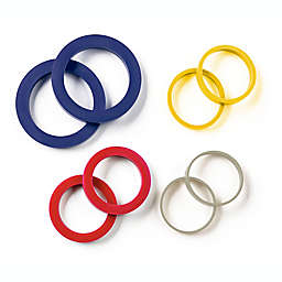 Our Table™ Silicone Rolling Pin Rings (Set of 4)