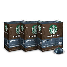 Starbucks® by Nespresso® Vertuo Line Espresso Roast Coffee Capsules 30-Count