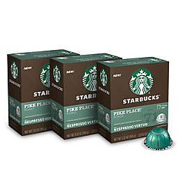 Starbucks® by Nespresso® Vertuo Line Pike Place Coffee Capsules 24-Count
