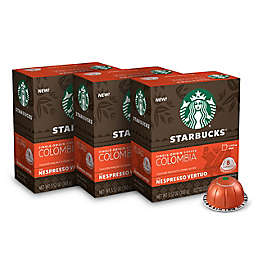 Starbucks® by Nespresso® Vertuo Line Single-Origin Colombia Coffee Capsules 24-Count