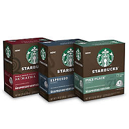 Starbucks® by Nespresso® Vertuo Line Variety Pack Coffee Capsules 26-Count