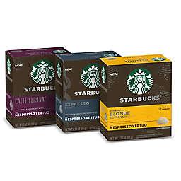 Starbucks® by Nespresso® Vertuo Line Variety Pack Espresso Capsules 28-Count