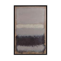 Martha Stewart Stratus Framed 25.81-Inch x 37.81-Inch Canvas Wall Art with Gel Coat in Multi