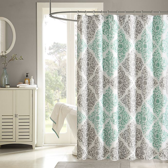 Alternate image 1 for Madison Park Claire Shower Curtain