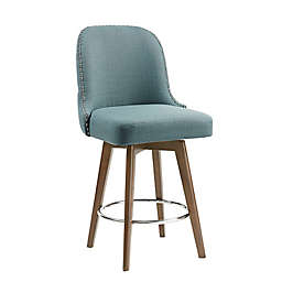 Madison Park™ Kobe Upholstered Stool Collection in Blue