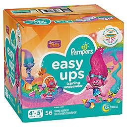 Pampers® Easy Ups 56-Count Size 4T-5T Girl's Training Underwear