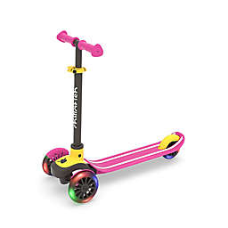 Chillafish Scotti Glow Scooter with Lightup Wheels in Pink