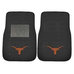 University of Texas at Austin 2-Piece Embroidered Car Mat Set