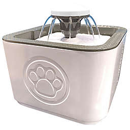 Bell + Howell® Paw Perfect ASTV Pet Water Fountain in White