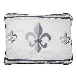 Donna Sharp® Ashland Fleur Standard Pillow Sham in White