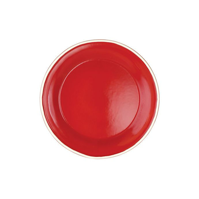 Alternate image 1 for viva by VIETRI Chroma Salad Plate in Red