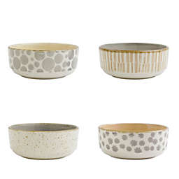 viva by VIETRI Earth 4-Piece Small Bowl Set
