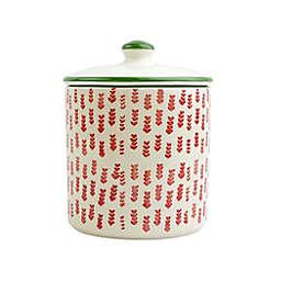 viva by VIETRI Mistletoe Arrow 56 oz. Cookie Jar