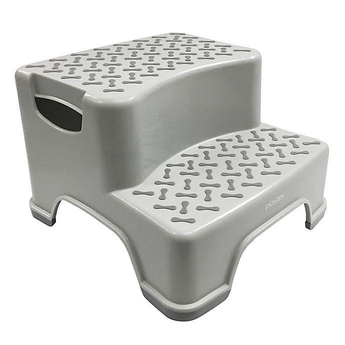 Alternate image 1 for Playtex® Transitions 2-Tier Step Stool in Grey