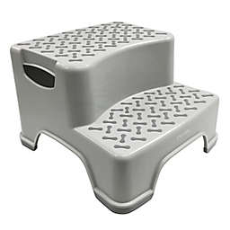Playtex® Transitions 2-Tier Step Stool in Grey
