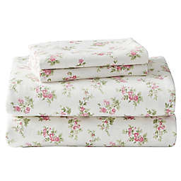 Laura Ashley® Audrey Flannel Sheet Set