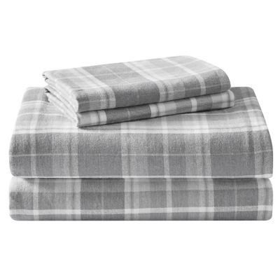 Laura Ashley Mulholland Flannel Sheet Set Bed Bath Beyond