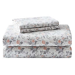 Laura Ashley® Rosalie Flannel Sheet Set