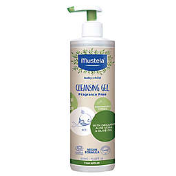 Mustela® 13.5 oz. Organic Cleansing Gel with Olive Oil and Aloe