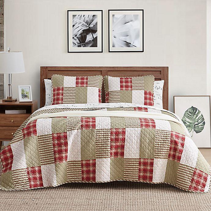 Alternate image 1 for Eddie Bauer® Camano Island Plaid Quilt Set