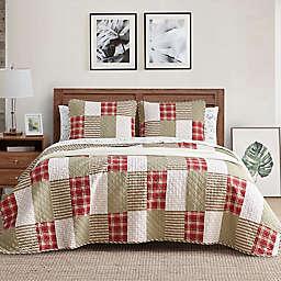 Eddie Bauer® Camano Island Plaid Quilt Set