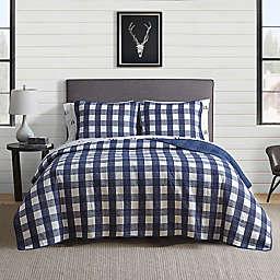 Eddie Bauer® Lake House Plaid Reversible Quilt Set