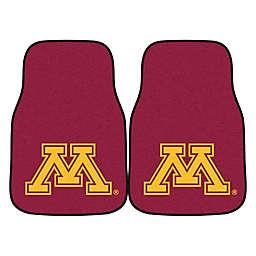 University of Minnesota 2-Piece Carpet Car Mat Set
