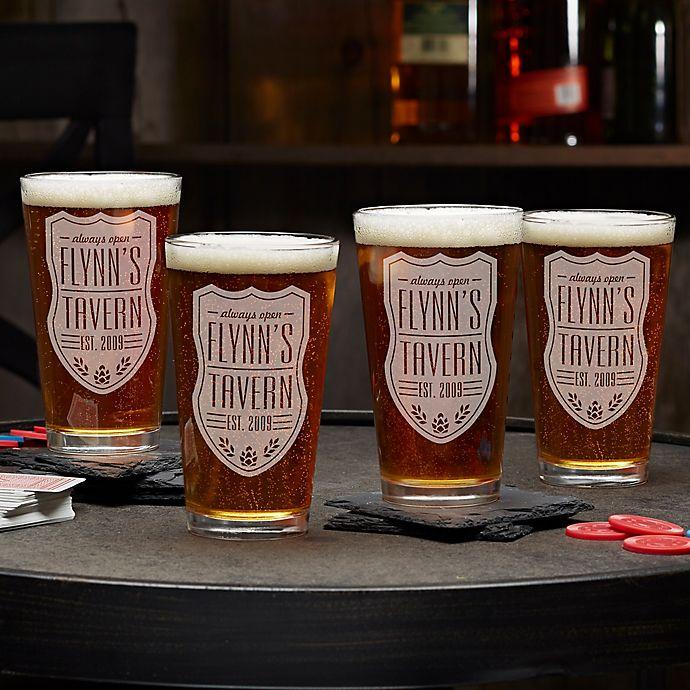 Alternate image 1 for Beer Label 16 oz. Pint Glass