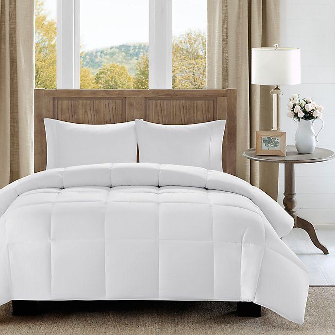 Alternate image 1 for Madison Park Winfield Luxury Down Alternative Comforter in White