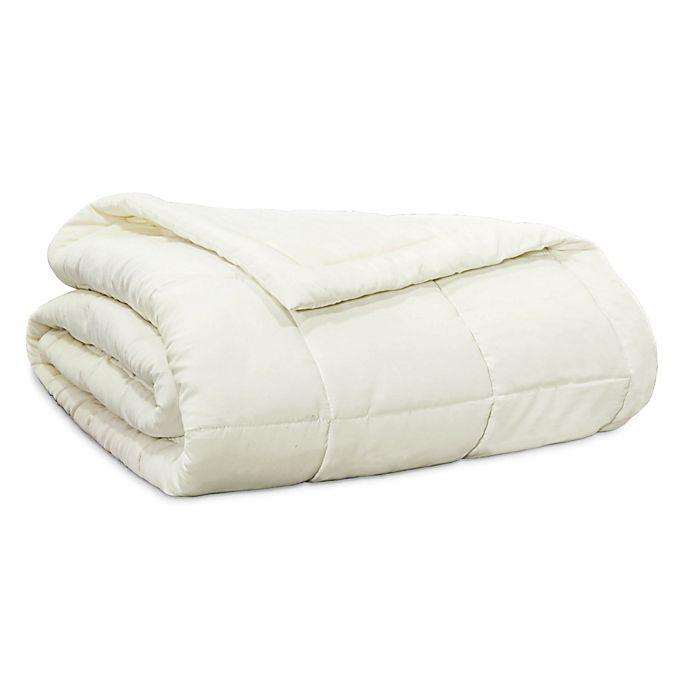 Alternate image 1 for Clean Start Down Alternative King Blanket in White