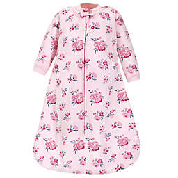 Hudson Baby® Size 0-6M Floral Long Sleeve Wearable Blanket in Pink