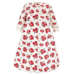 Hudson Baby® Size 0-6M Rose Quilted Long Sleeve Wearable Blanket in Red