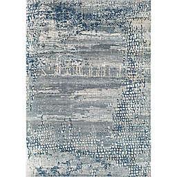 Rugs America Axford Preston Marina Rug in Blue/Grey