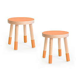 Poco Kids Chair, Set of 2, Maple Wood