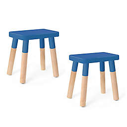 Peewee Kids Chair, Set of 2, Maple