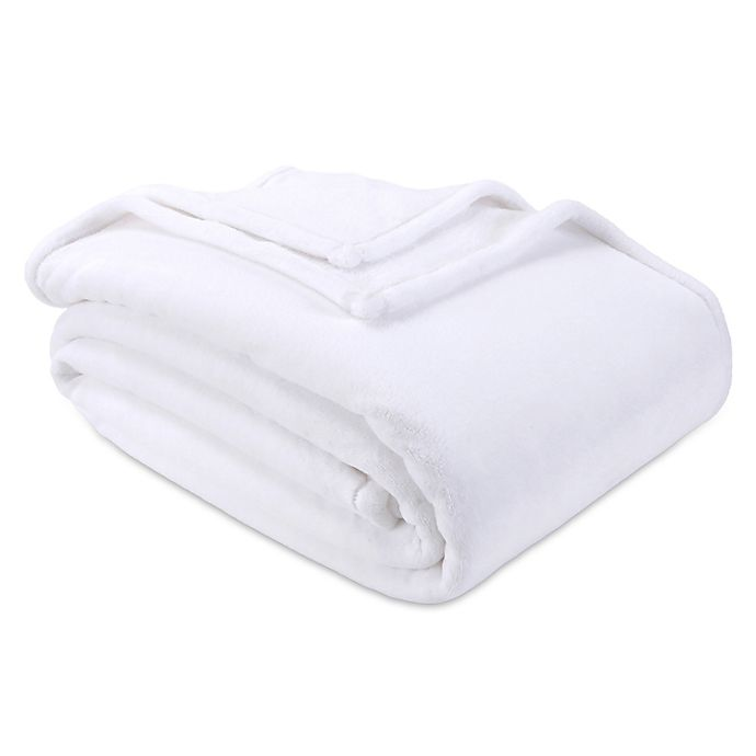 Alternate image 1 for Nestwell™ Supreme Softness Plush King Blanket in Bright White