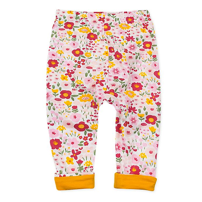 Alternate image 1 for The Honest Company® Organic Cotton Turn-Back Cuff Harem Pant