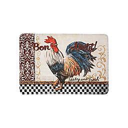 Bon Appetit Rooster Kitchen Mat